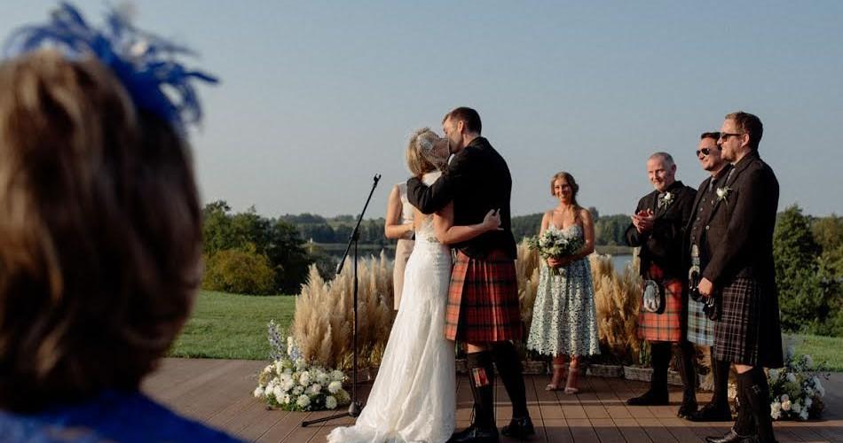 Ślub humanistyczny Polki i Szkota