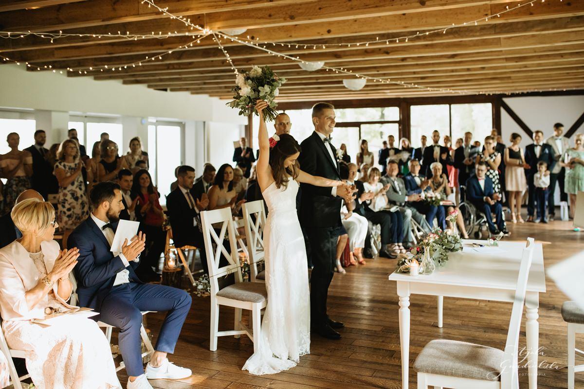 Ślub humanistyczny Poli i Grzegorza