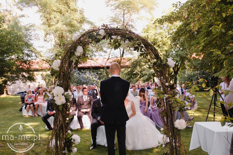 Ślub humanistyczny Cathryn i Marka