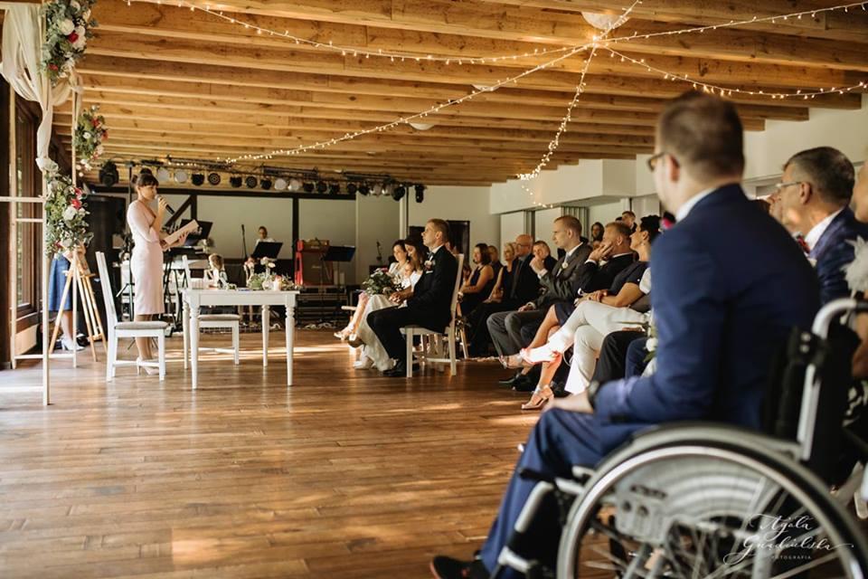 Ślub humanistyczny w sali